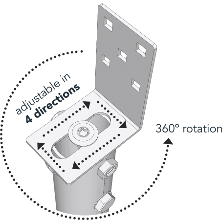 Main image of - Aksesuāri — G to L adaptor - groundscrews.shop - get ground screws online with delivery.
