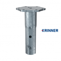Main image of — KRINNER ⌀ 76 - 3,6 mm - KSF V 76x3.6-M16 — get screw pile online on Groundsrews.shop