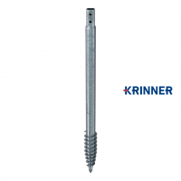 Main image of — KRINNER ⌀ 140 - 6.3 mm - KSF V 140x6.3x2000 PT — get screw pile online on Groundsrews.shop