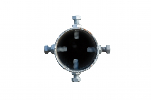 Product G profile - ⌀ 114 - 1300 mm gallery, examples of use — Groundscrews.shop - order screw piles online