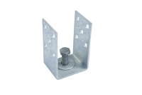 Main image of — U-Adapter 82mm - adapter-u 82x130x70mm — get screw pile online on Groundsrews.shop