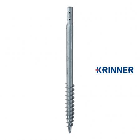 Main image of - V profils — KRINNER ⌀ 76 - 3,6 mm - groundscrews.shop - get ground screws online with delivery.