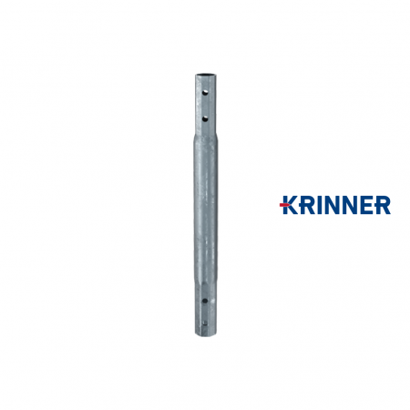 Main image of - V profile — KRINNER ⌀ 76 - 3,6 mm - groundscrews.shop - get ground screws online with delivery.