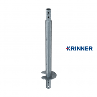 Main image of — KRINNER ⌀ 114 - 5 mm - KSF V 114x5x1500 EH  — get screw pile online on Groundsrews.shop