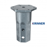 Main image of — KRINNER ⌀ 140 - 6.3 mm - KSF V 140x6.3 M24 — get screw pile online on Groundsrews.shop