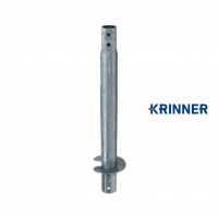 Main image of — KRINNER ⌀ 140 - 6.3 mm - KSF V 140x6.3x1500 EH — get screw pile online on Groundsrews.shop