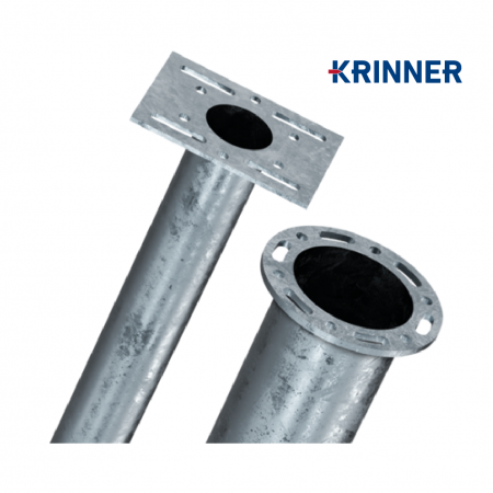 Product  - KRINNER ⌀ 76 - 800 mm gallery, examples of use — Groundscrews.shop - order screw piles online