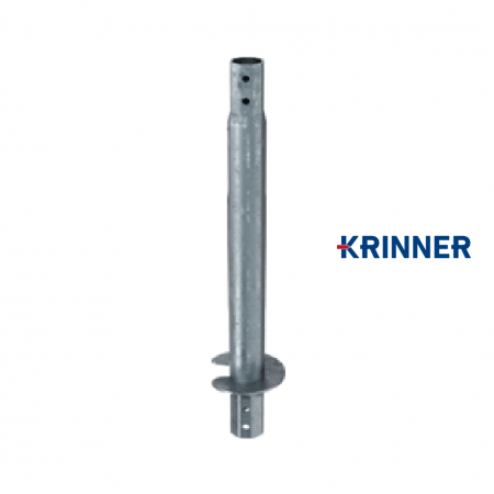 Main image of - V profils — KRINNER ⌀ 140 - 6.3x1500 mm - groundscrews.shop - get ground screws online with delivery.
