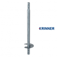 Main image of — KRINNER ⌀ 76 - 3,6 mm - KSF V 76x3.6x1500 EH  — get screw pile online on Groundsrews.shop