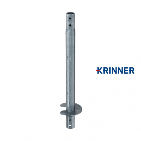 Main image of - V profile — KRINNER ⌀ 114 - 5 mm - groundscrews.shop - get ground screws online with delivery.