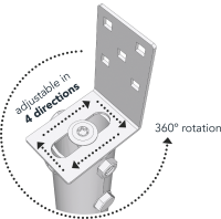 Main image of — G to L adaptor - G-to-L-adaptor — get screw pile online on Groundsrews.shop