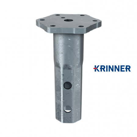 Main image of - V profile — KRINNER ⌀ 89 - 5 mm - groundscrews.shop - get ground screws online with delivery.