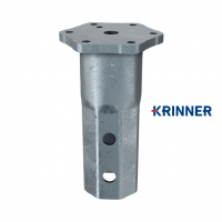 Main image of — KRINNER ⌀ 114 - 5 mm - KSF V 114x5 M24  — get screw pile online on Groundsrews.shop