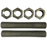 Main image of - Accessories — V114 Screw set M24  - groundscrews.shop - get ground screws online with delivery.