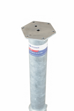 Product M profile - KRINNER ⌀ 76 - 1600 мм gallery, examples of use — Groundscrews.shop - order screw piles online