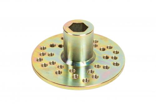 Product Montāžas<br>tehniskais aprīkojums - Elektriskais rotors GSD-20  gallery, examples of use — Groundscrews.shop - order screw piles online