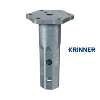 Main image of — KRINNER ⌀ 89 - 5 mm - KSF V 89x5-M24  — get screw pile online on Groundsrews.shop