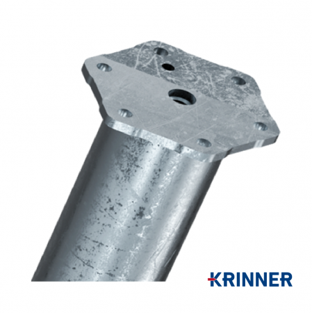 Product M profile - KRINNER ⌀ 76 - 2100 мм gallery, examples of use — Groundscrews.shop - order screw piles online