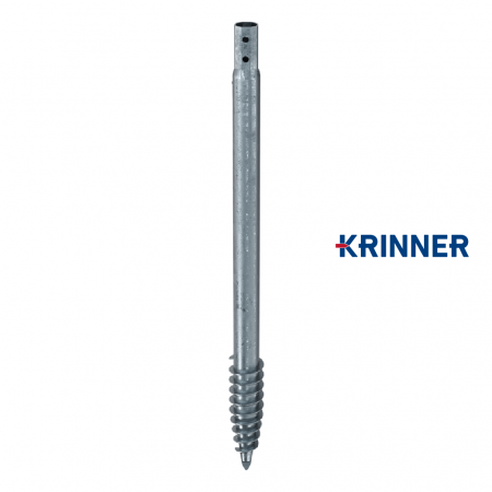 Main image of - V profils — KRINNER ⌀ 140 - 6.3 mm - groundscrews.shop - get ground screws online with delivery.